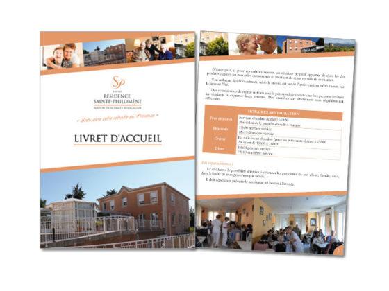 Livret d'accueil EHPAD Résidence Sainte-Philomène Puget-Ville (83)