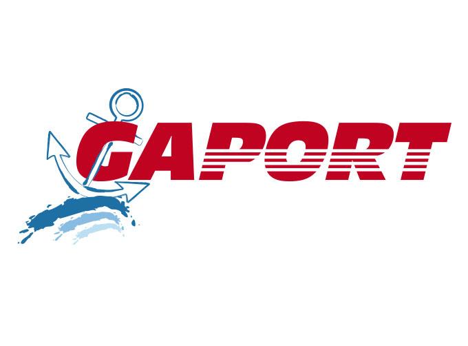 Conception logo pour la société Gaport à Hyères (83)
