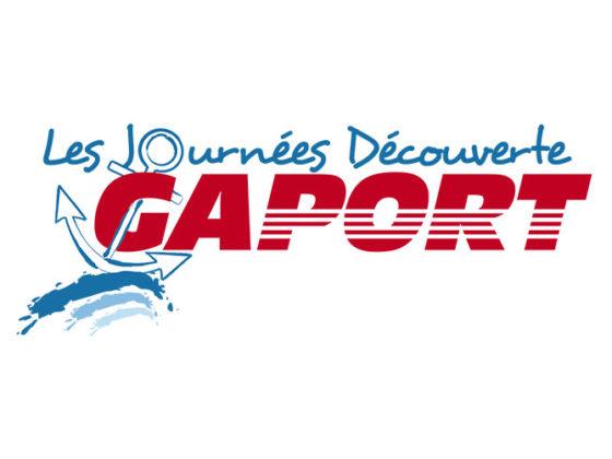 Déclinaison logo pour évènementiel société Gaport à Hyères (83)