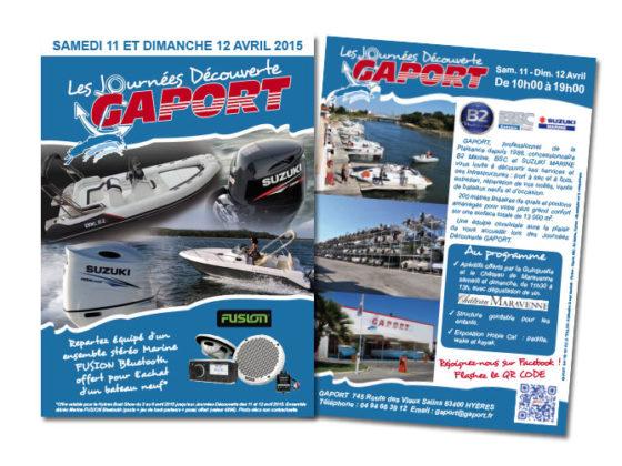 Prospectus Journées Découverte pour la société Gaport à Hyères (83)