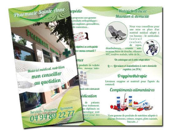 Dépliant Pharmacie Sainte-Anne